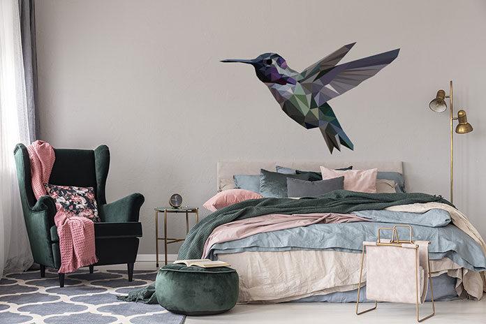 Naklejki do sypialni – pomysł na wystrój jak ze snów!