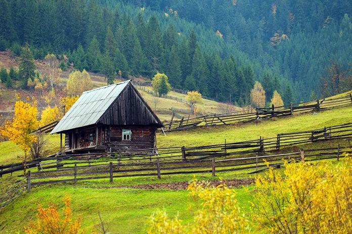 Gdzie nocować w górach
