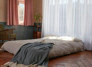 zasłony w sypialni